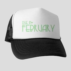 Green Urban Heart Due February Trucker Hat