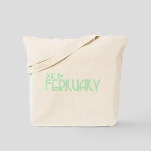 Green Urban Heart Due February Tote Bag