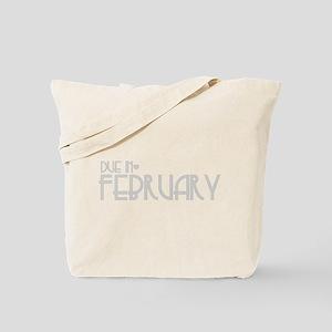 Grey Urban Heart Due February Tote Bag