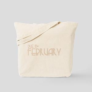 Orange Urban Heart Due February Tote Bag