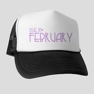 Purple Urban Heart Due February Trucker Hat