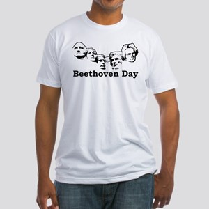 Beethoven Day Fitted T-Shirt