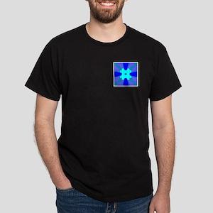 Occult Blues Design Dark T-Shirt