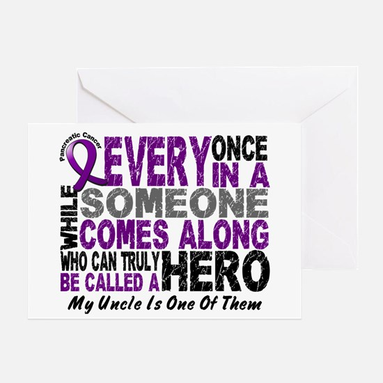 HERO Comes Along 1 Uncle PC Greeting Card