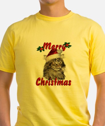 Maine Coon Christmas T