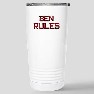 ben rules Stainless Steel Travel Mug