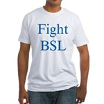 Fight BSL Fitted T-Shirt