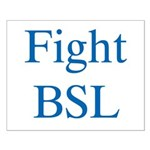 Fight BSL Small Poster