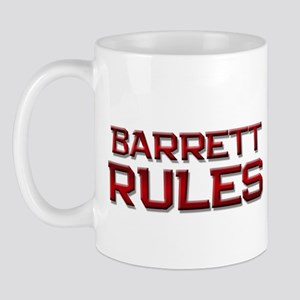 barrett rules Mug
