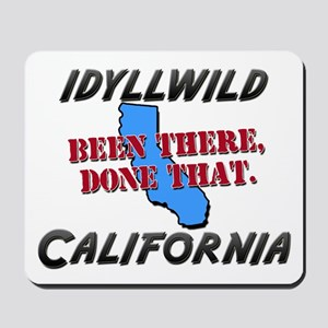 idyllwild california - been there, done that Mouse