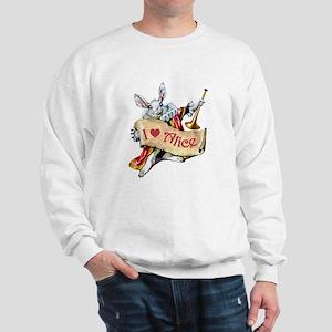 ALICE'S WHITE RABBIT Sweatshirt