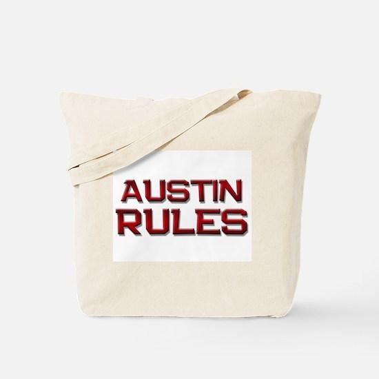 austin rules Tote Bag