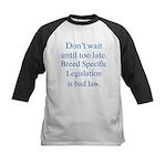 Bad Law Kids Baseball Jersey