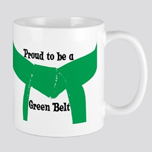 Proud to be a Green Belt Mug