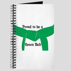 Proud to be a Green Belt Journal