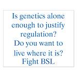 Genetics BSL Small Poster
