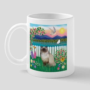 Garden Shore / Himalayan Cat Mug