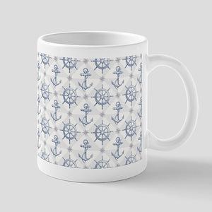 Nautical Pattern Mugs