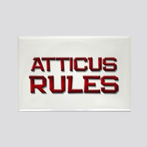 atticus rules Rectangle Magnet