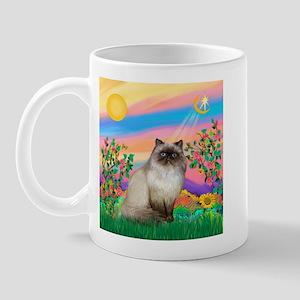 Day Star / Himalayan Cat Mug