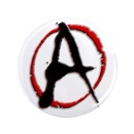 """Anarchy Now 3.5"""" Button (100 pack)"""