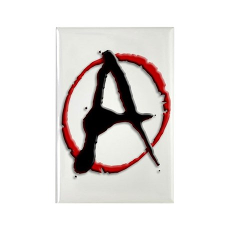 Anarchy Now Rectangle Magnet