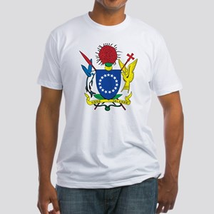 Cook Islands Coat Of Arms Fitted T-Shirt
