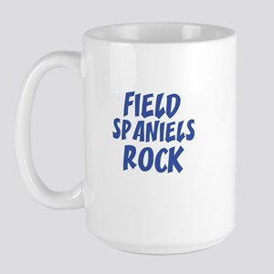 FIELD SPANIELS ROCK Large Mug