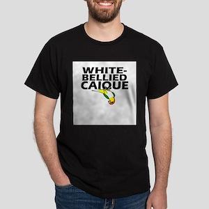 White-Bellied Caique Ash Grey T-Shirt