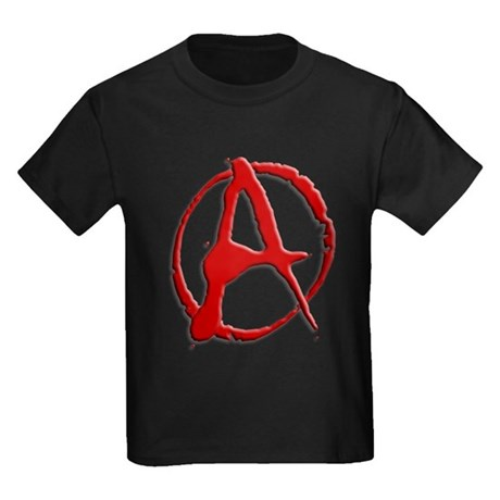 Anarchy Now Kids Dark T-Shirt