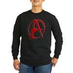 Anarchy Now Long Sleeve Dark T-Shirt