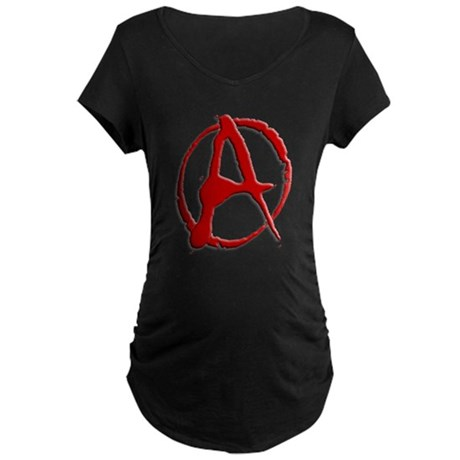 Anarchy Now Maternity Dark T-Shirt