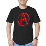 Anarchy Now Men's Fitted T-Shirt (dark)