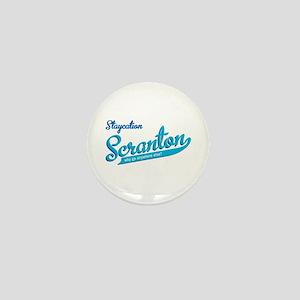 Scranton Staycation Mini Button