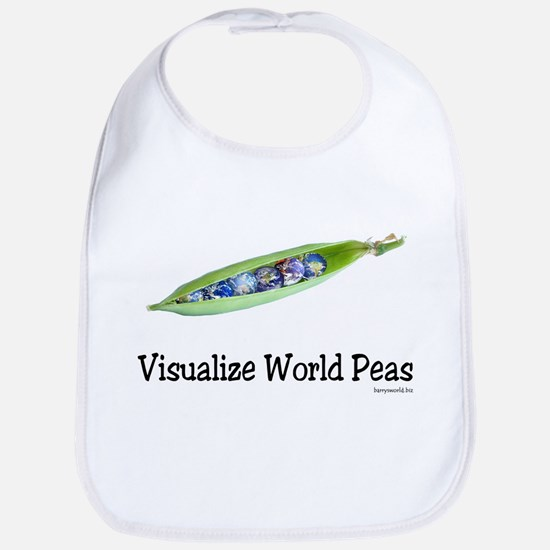 World Peas 2 Bib