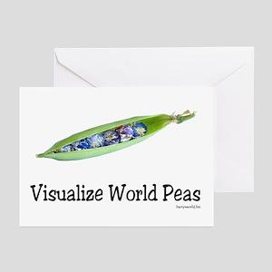 World Peas 2 Greeting Cards (Pk of 20)