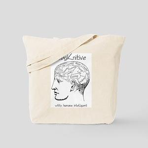 CogKnitive Phrenology Tote Bag