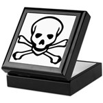 Skull and Crossbones Keepsake Box