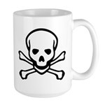 Skull and Crossbones Large Mug