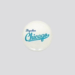 staycation Mini Button