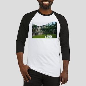 Tikal Courtyard Baseball Jersey