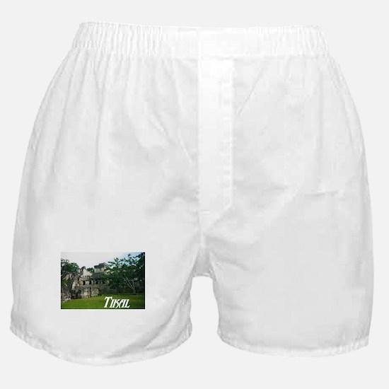 Tikal Courtyard Boxer Shorts