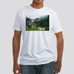 Tikal Courtyard Fitted T-Shirt