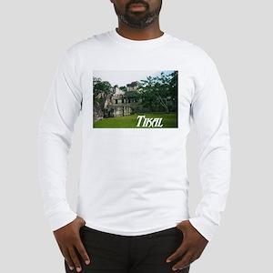 Tikal Courtyard Long Sleeve T-Shirt