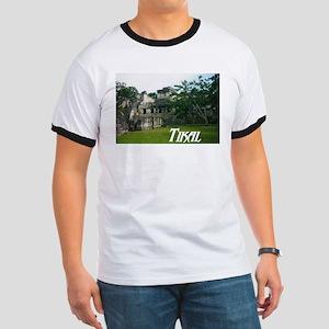Tikal Courtyard Ringer T