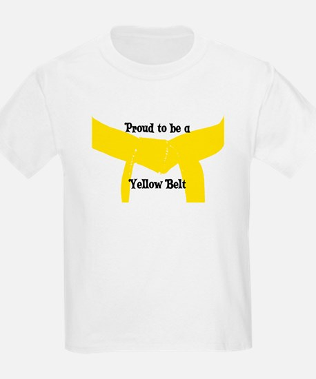 Proud to be a Yellow Belt T-Shirt