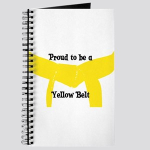 Proud to be a Yellow Belt Journal