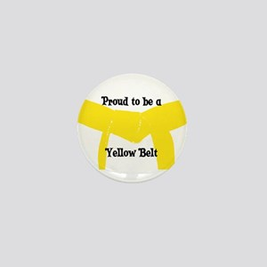 Proud to be a Yellow Belt Mini Button