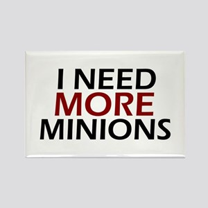 Need More Minions Rectangle Magnet