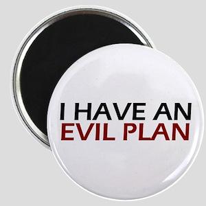 Evil Plan Magnet